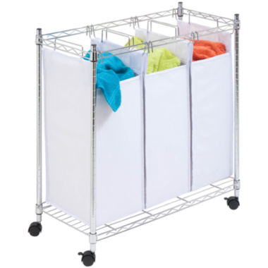 jcpenney.com | Honey-Can-Do® Chrome Urban Triple Sorter