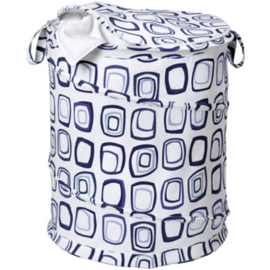 jcpenney.com | Honey-Can-Do® Blue Squares Pop-Open Hamper