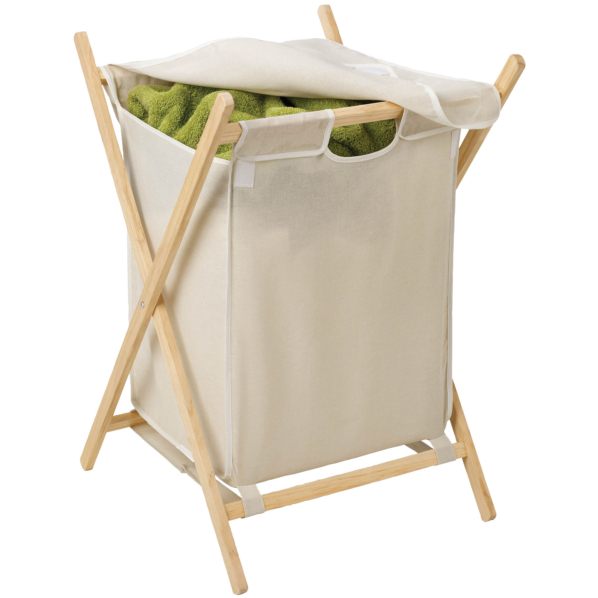 Honey-Can-Do Folding Wooden Hamper