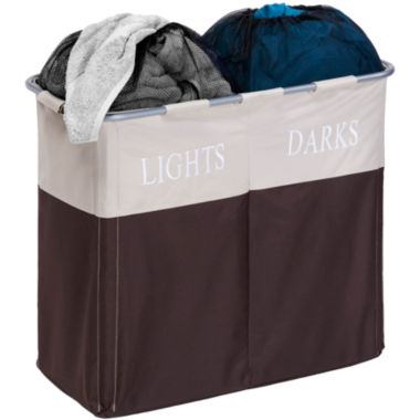 jcpenney.com | Honey-Can-Do® Dual Compartment Light/Dark Hamper