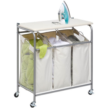 jcpenney.com | Honey-Can-Do® Sort and Iron Triple Laundry Center