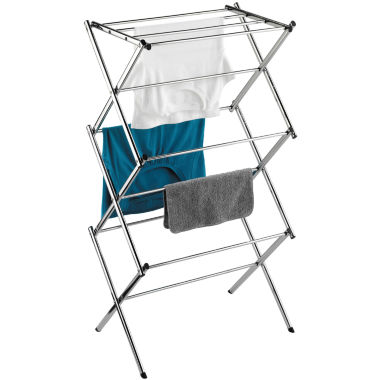 jcpenney.com | Honey-Can-Do® Slim Chrome Commercial Drying Rack