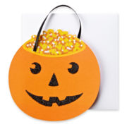 MarthaCelebrations™ Halloween Card - Pumpkin