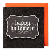MarthaCelebrations™ Halloween Card – Happy Halloween