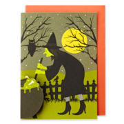 MarthaCelebrations™ Halloween Card – Witch