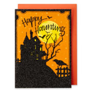 MarthaCelebrations™ Halloween Card – Haunted House