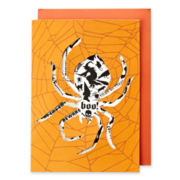 MarthaCelebrations™ Halloween Card – Spider Tattoo