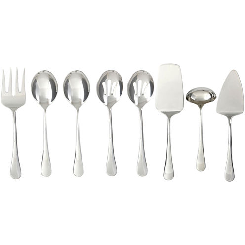 Cambridge® SilverSmiths™ 8-pc. 18/10 Stainless Steel Hostess Set