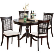 Hillsdale Bayberry 5-pc. Round Dining Set