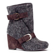 MUK LUKS® Melissa Womens Wedge Boots