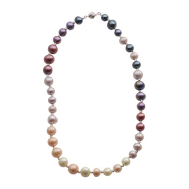 jcpenney.com | Cultured Freshwater Purple & Pink Pearl Sterling Silver Ombré Necklace
