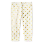 Okie Dokie® Print Leggings – Girls newborn-24m