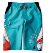 Zero Xposur® Molokai Swim Trunks – Boys S-XL