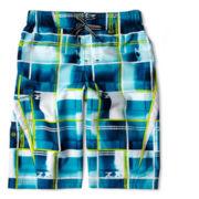 Zero Xposur® Cutback Swim Trunks – Boys S-XL