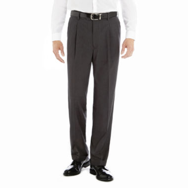 jcpenney.com | Stafford® Year-Round Pleated Pants–Big & Tall