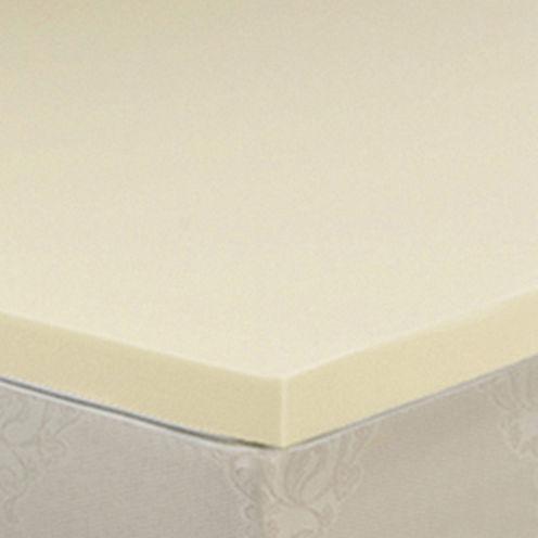 """Snuggle Home™ 3"""" Memory Foam Mattress Topper"""