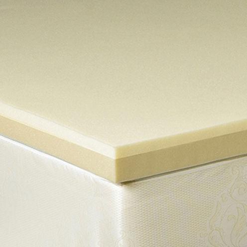 """Snuggle Home™ 3"""" Memory plus Support Foam Mattress Topper"""