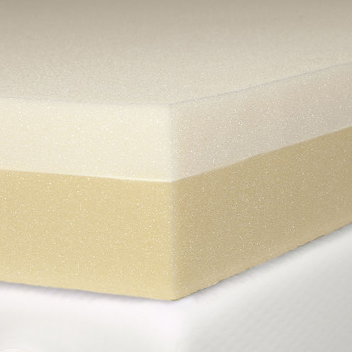 "Snuggle Home™ 4"" Memory plus Support Foam Mattress Topper"