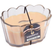 RibbonWick® Parisian Vanilla Scalloped Glass Candle