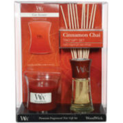 WoodWick® Cinnamon Chai Trio Gift Set