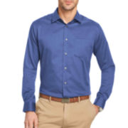 Van Heusen® No-Iron Solid Long-Sleeve Woven Shirt