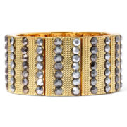 Bold Elements™ Gold-Tone Stretch Bracelet