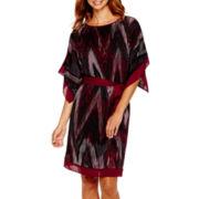 Alyx® 3/4-Sleeve Belted Kimono Dress