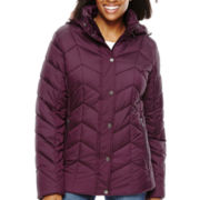 St. John's Bay® Hooded Puffer Jacket