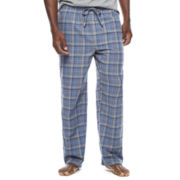 Stafford® Flannel Pajama Pants - Big & Tall