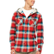UNIONBAY® Harris Hooded Flannel Shirt