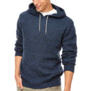 UNIONBAY® Quincey Marled Knit Sweater Hoodie