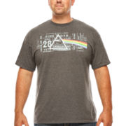 Pink Floyd Prism Graphic Tee - Big & Tall