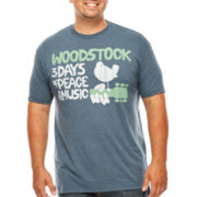 Woodstock Music Festival Graphic Tee - Big & Tall