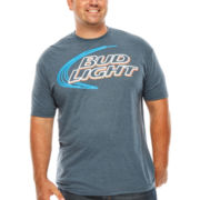Bud Light® Short-Sleeve Graphic Tee - Big & Tall