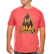 Def Leppard Short-Sleeve Graphic Tee - Big & Tall