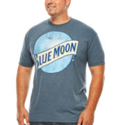 Blue Moon® Short-Sleeve Graphic Tee - Big & Tall