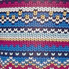 Blue-pink Fairisle