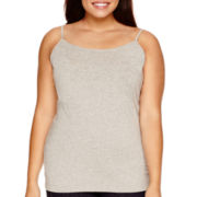 Arizona Favorite-Stretch Cotton Cami - Plus