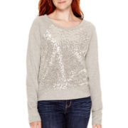Arizona Long-Sleeve Sequin Sweatshirt