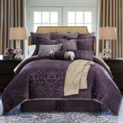 Royal Velvet® Fenice 4-pc. Chenille Comforter Set & Accessories