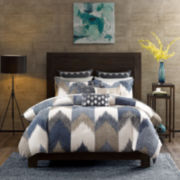 INK+IVY Aspen Chevron 3-pc. Comforter Set