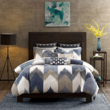 jcpenney.com | INK+IVY Alpine Chevron 3-pc. Duvet Cover Set