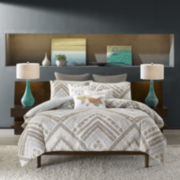 INK+IVY Cornwell Chevron 3-pc. Comforter Set