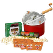 Whirley-Pop™ Santa-Themed Holiday Gift Set