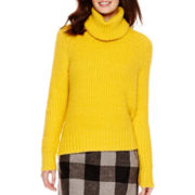a.n.a® Long-Sleeve High-Low Turtleneck Sweater