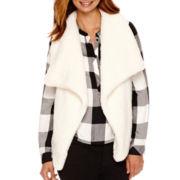 a.n.a® Sherpa Sweater Vest - Tall