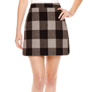 a.n.a® Plaid Shirt Tail Skirt