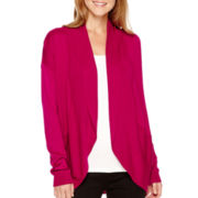 Worthington® Long-Sleeve Open-Front Cardigan
