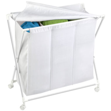 jcpenney.com | Honey-Can-Do® Folding Triple Hamper/Sorter
