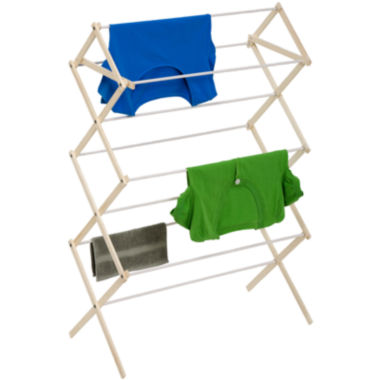 jcpenney.com | Honey-Can-Do® Compact Wood Drying Rack